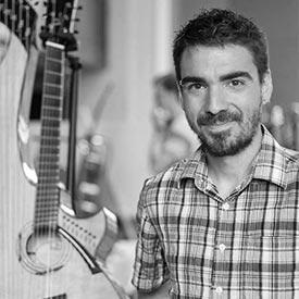 Michel Pellerin, luthier invité au Salon de la Guitare de Québec