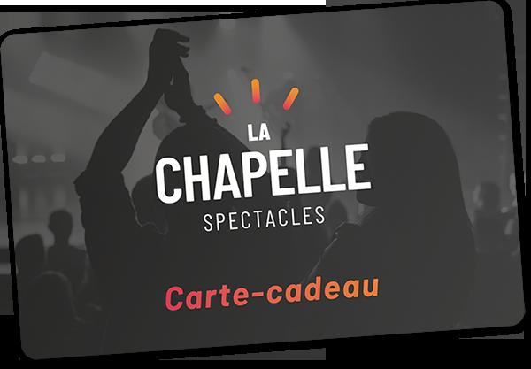 Carte-cadeau – offrez un spectacle à Québec | La Chapelle spectacles